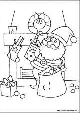 Dibujos de Navidad para colorear (118/365)