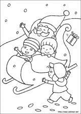 Dibujos de Navidad para colorear (119/365)
