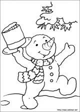 Dibujos de Navidad para colorear (122/365)