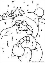 Dibujos de Navidad para colorear (125/365)