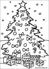 Dibujos de Navidad para colorear (126/365)