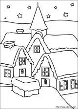 Dibujos de Navidad para colorear (127/365)