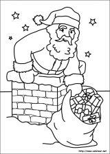 Dibujos de Navidad para colorear (128/365)
