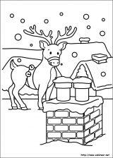 Dibujos de Navidad para colorear (129/365)