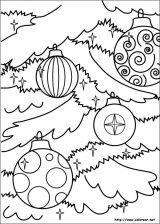 Dibujos de Navidad para colorear (131/365)
