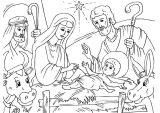 Dibujos de Navidad para colorear (135/365)