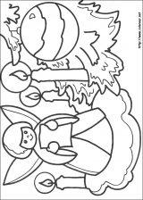 Dibujos de Navidad para colorear (148/365)