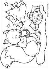 Dibujos de Navidad para colorear (150/365)