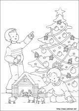 Dibujos de Navidad para colorear (152/365)