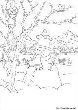 Dibujos de Navidad para colorear (153/365)