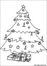 Dibujos de Navidad para colorear (154/365)