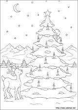 Dibujos de Navidad para colorear (155/365)