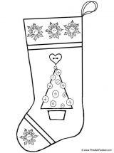 Dibujos de Navidad para colorear (157/365)