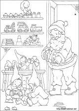 Dibujos de Navidad para colorear (158/365)