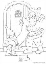 Dibujos de Navidad para colorear (160/365)