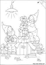 Dibujos de Navidad para colorear (161/365)