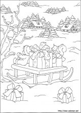 Dibujos de Navidad para colorear (162/365)