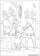 Dibujos de Navidad para colorear (163/365)