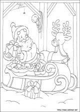 Dibujos de Navidad para colorear (164/365)