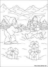 Dibujos de Navidad para colorear (165/365)