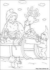 Dibujos de Navidad para colorear (167/365)