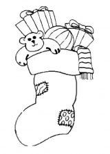 Dibujos de Navidad para colorear (168/365)