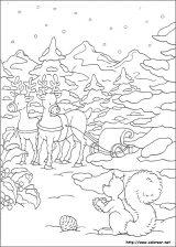 Dibujos de Navidad para colorear (169/365)