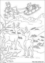 Dibujos de Navidad para colorear (170/365)