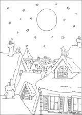Dibujos de Navidad para colorear (171/365)