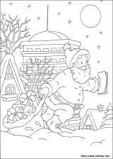 Dibujos de Navidad para colorear (172/365)