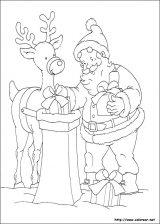 Dibujos de Navidad para colorear (173/365)