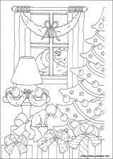 Dibujos de Navidad para colorear (174/365)