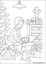Dibujos de Navidad para colorear (175/365)