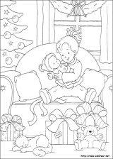 Dibujos de Navidad para colorear (176/365)