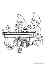 Dibujos de Navidad para colorear (178/365)