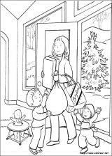 Dibujos de Navidad para colorear (180/365)