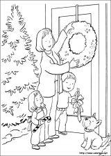 Dibujos de Navidad para colorear (181/365)