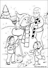 Dibujos de Navidad para colorear (182/365)