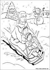 Dibujos de Navidad para colorear (183/365)