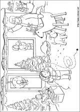 Dibujos de Navidad para colorear (184/365)