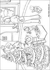 Dibujos de Navidad para colorear (186/365)
