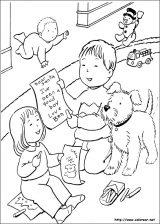 Dibujos de Navidad para colorear (187/365)
