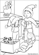 Dibujos de Navidad para colorear (188/365)