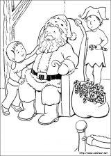 Dibujos de Navidad para colorear (189/365)