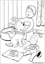 Dibujos de Navidad para colorear (192/365)