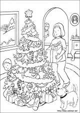 Dibujos de Navidad para colorear (196/365)