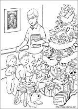 Dibujos de Navidad para colorear (197/365)