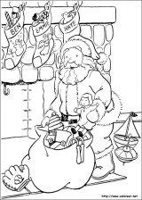 Dibujos de Navidad para colorear (199/365)