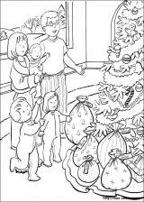 Dibujos de Navidad para colorear (200/365)