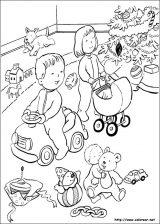 Dibujos de Navidad para colorear (202/365)